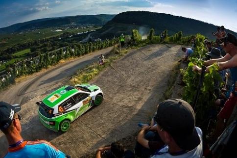 ŠKODA na Německé rally: Sebevědomě na klasickou asfaltovou rally