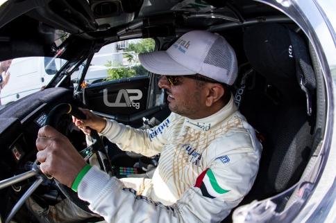 Rashid Al-Ketbi odstartuje na Rally Bohemia