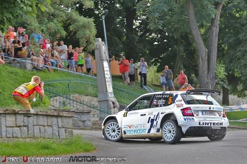 Tomáš Kostka na Rally Agropa testoval před Barumkou