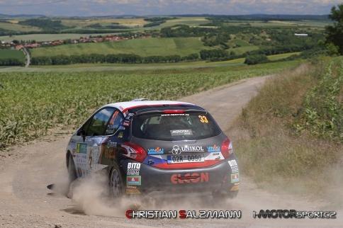 Dunovský s Peugeotem odjel ve vinicích parádní soutěž